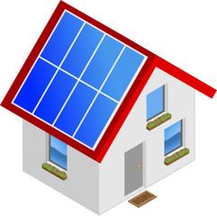 Häuschen solar