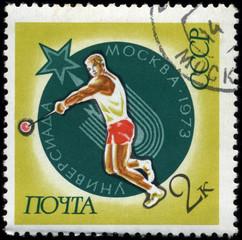 USSR - CIRCA 1973 Athletics
