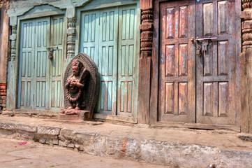 Old doors - Kathmandu (Nepal)