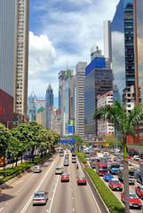 Foto op Aluminium Hong-Kong China, Hong Kong Gloucester road
