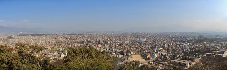 Kathmandu Panorama from Swayambhunath