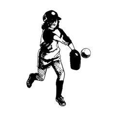 baseball, illustration