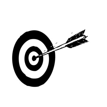 tir à l'arc, illustration