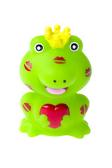 toy frog