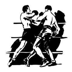 boxe, illustration