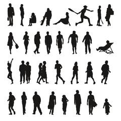 Collection de silhouettes - Icons shadows