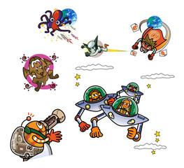オリジナルキャラクター(飛ぶ)