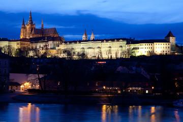Praga - Il Castello al Crepuscolo