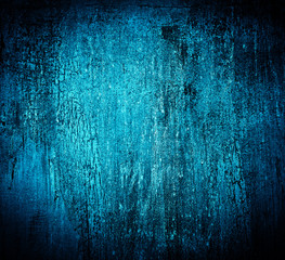 Blue textured cracked grungy background