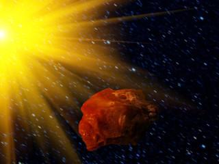 Sky   star  asteroid