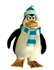 grimmiger Pinguin