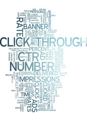 Click Trough Rate (CTR) - Online Advertising
