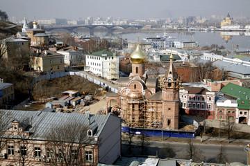 Nizhny Novgorod: the oldest parts of the romantic city