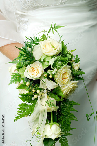 Brautstrauss Weisse Rosen Stock Photo And Royalty Free Images On