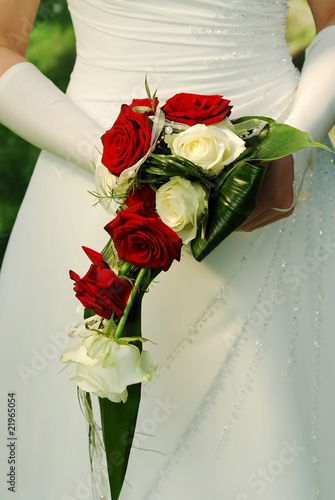 Brautstrauss Rote Rosen Stock Photo And Royalty Free Images On