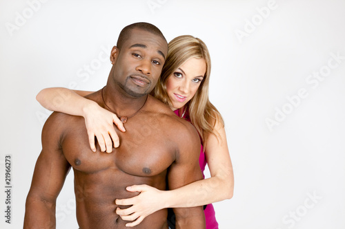 Sexy mixed couples