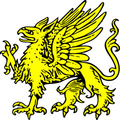 yellow griffin