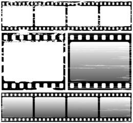 scratched film