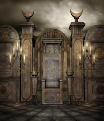 Fototapeta Świątynia fantasy 6 obraz
