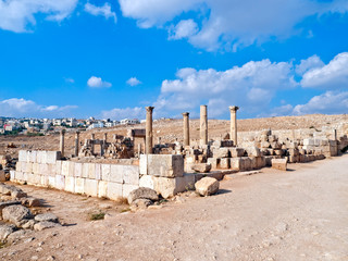 Church in Jerash, Jordan