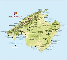 Majorca Map Photos Royalty Free Images Graphics Vectors