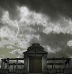 Hintergrung Thunder and Lightning