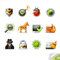 Infinity Collection | Icon set 14 | Web Security