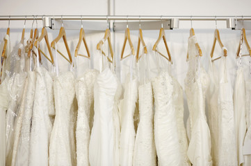 A few beautiful wedding dresses