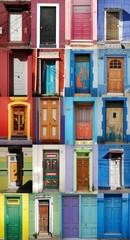 Valparaiso doors