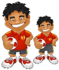 Fussballspieler Spanien