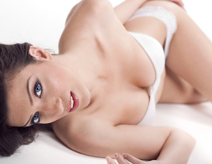 Beautiful caucasian sexy woman
