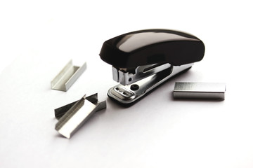 Black stapler (small depth of sharpness)