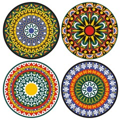 patterns ornament circles and details