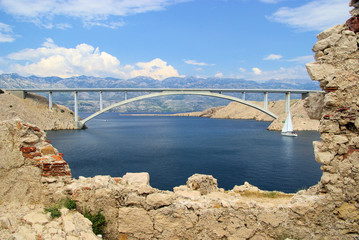 Pag Brücke - Pag bridge 05
