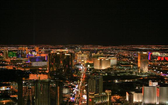 Nighttime in Vegas