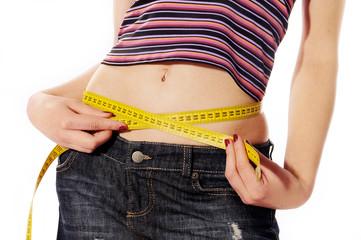 dieta pancia metro misura