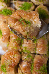 turkish delight,baklava
