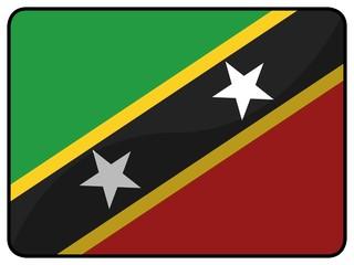 drapeau saint kitts and nevis flag