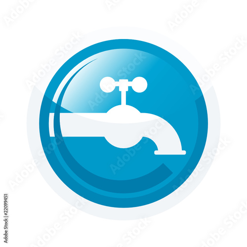 wasserhahn sanitär klempner symbol zeichen stockfotos  ~ Wasserhahn Zeichen Spülmaschine
