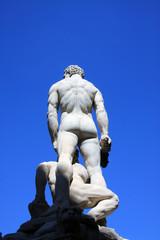 Detalle espalda de Hércules