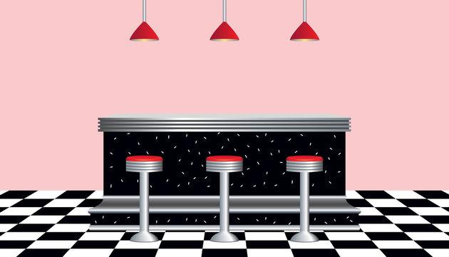 Retro Diner 1950's