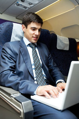 During flight