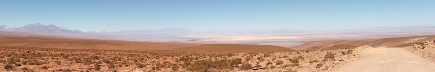 Salar de Atacama panorama, Chile