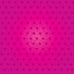 Pink abstract background with stars, part 4, Vector illustration