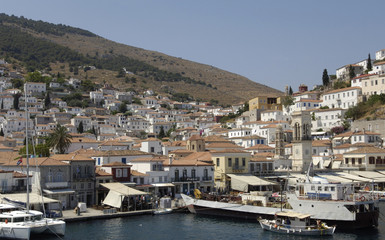 Grèce, île d'Hydra