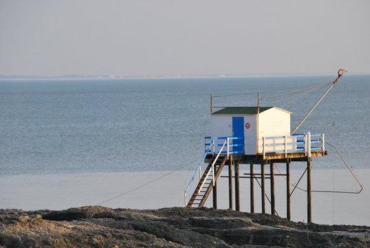 Carrelet : Cabanon de pêche