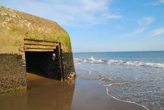 Bunker à la plage