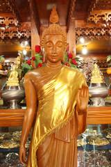 buddha wooden image