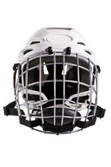 Hockey helmet on white background