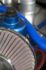 Wall Mural - auto air filter closeup